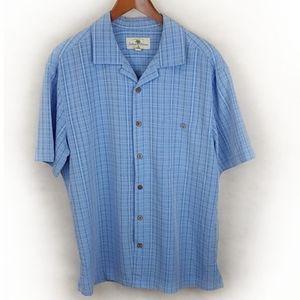 Island Shores Button Down Shirt Size Large